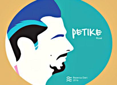 Bezerics Dani szakállas rozéja, a Petike. 2016, Keszthely