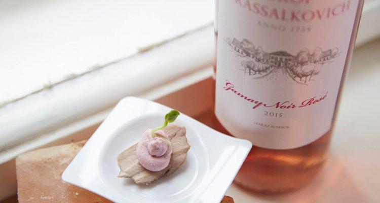 Gr. Grassalkovich Gamay Noir rosé 2016, Nagygombos, Mátra