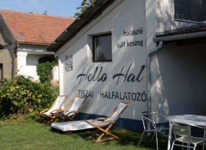 Hello Hal Halfalatozó a Tisza-tónál