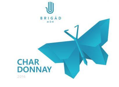 Brigád pince Chardonnay 2016, Mór a Borjour Besten