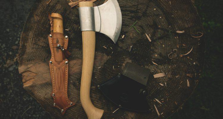 Bushcraft eszközök furcsán tisztán