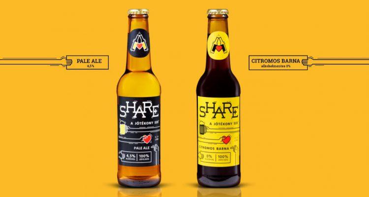 SHARE - a jótékony sör. Vagy ser.