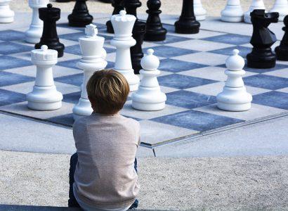 Mindenki megtanul sakkozni Berg Judit könyvéből: Alma - a sötét birodalom. Forrás: Pixabay